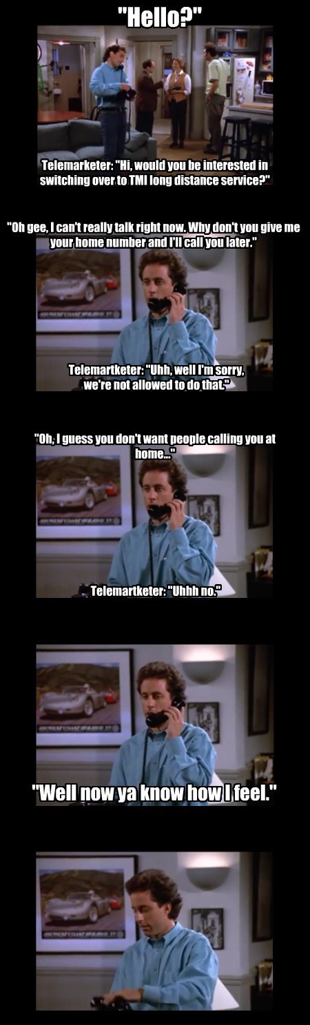 marketing telemarketers seinfeld funny