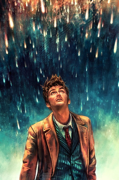 10th doctor Fan Art doctor who - 7781971456