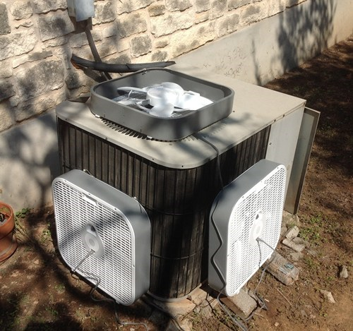 fans funny air conditioner there I fixed it g rated