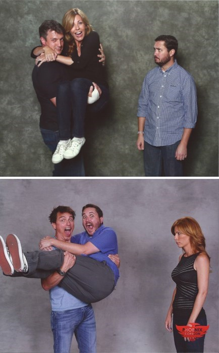 nathan fillion,wil wheaton,conventions,john barrowman