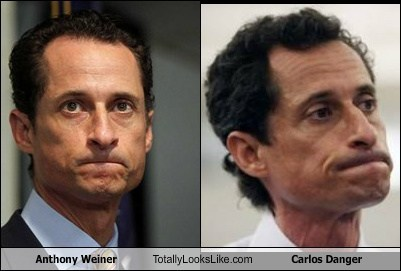 totally looks like carlos danger Anthony Weiner funny - 7782214912