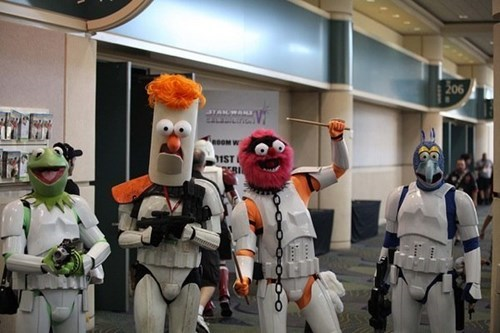 muppets,cosplay,star wars,stormtrooper