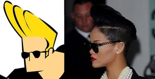 johnny bravo totally looks like rihanna cartoons - 7782395904