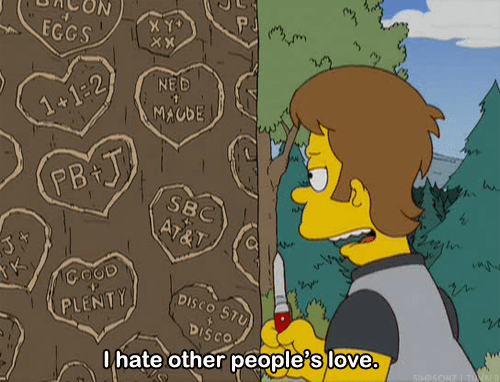 cartoons love the simpsons dating - 7782398464