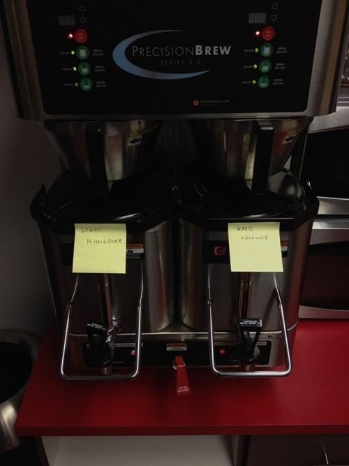 drinking hangovers alcohol coffee maker espresso - 7782454528