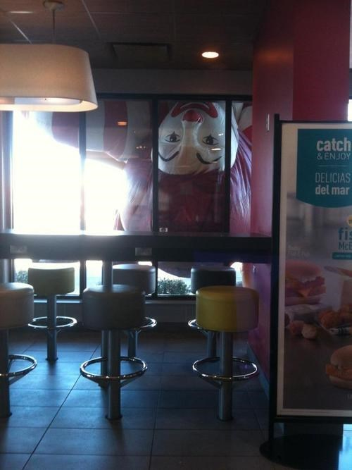 accidental creepy,Ronald McDonald,McDonald's,funny