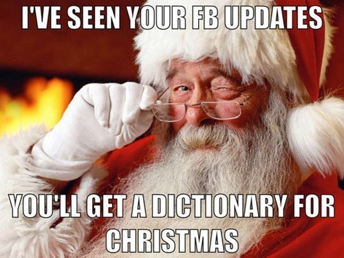 facebook,santa,dictionaires