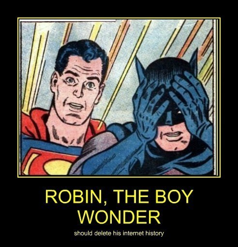 robin very demotivational batman - 7782648320