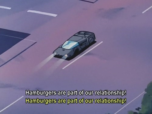 quotes anime screencap hamburgers weird oh Japan - 7782703872