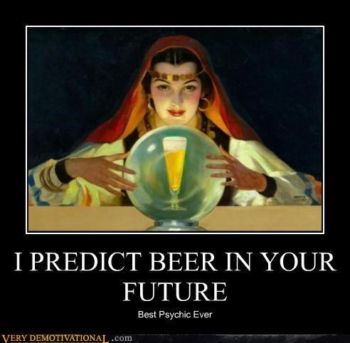 beer psychic funny - 7782764032