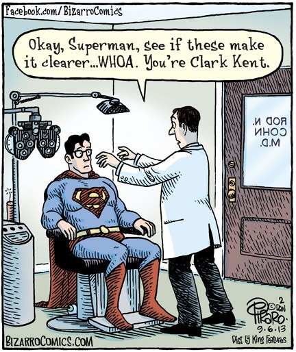 disguise glasses superman - 7782852096