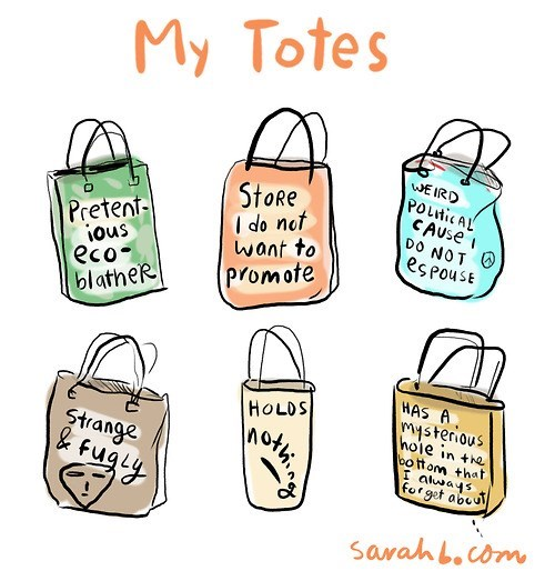 bags totes pretentious