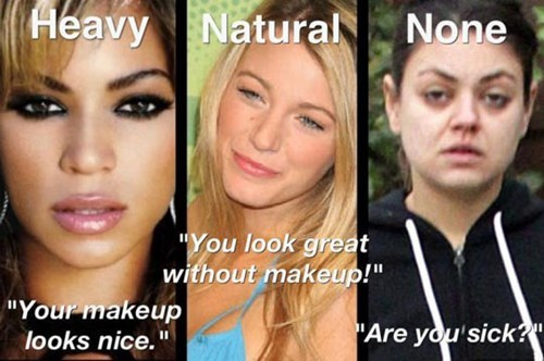makeup natural none