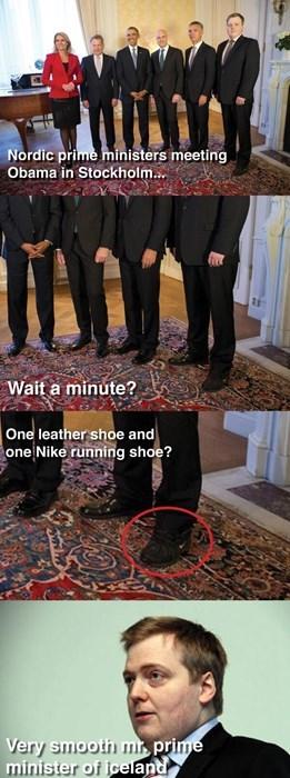 Iceland,shoes,obama