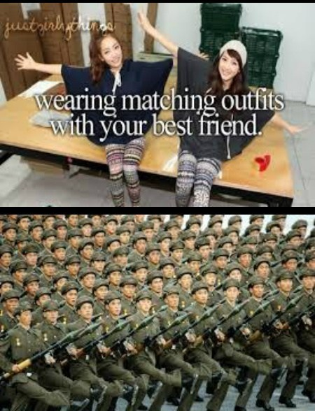 just girly things,uniforms,wake up sheeple,friends,army,funny