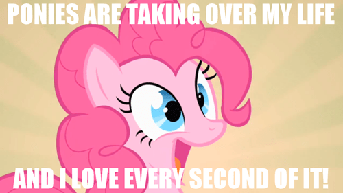 ponies game over lyfe Bronies pinkie pie - 7784571392