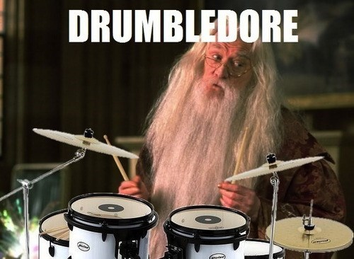 Harry Potter pun wizard drums - 7785136128