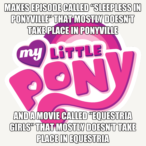 my little pony,Hasbro,logic