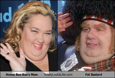 fat bastard,moms,totally looks like,honey boo-boo,funny