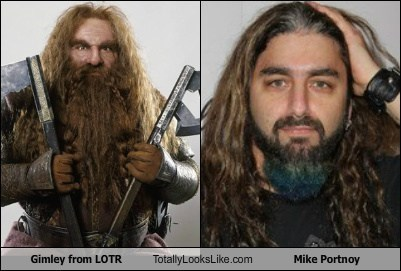 Lord of the Rings mike portnoy totally looks like Dream Theater gimli funny - 7786316544