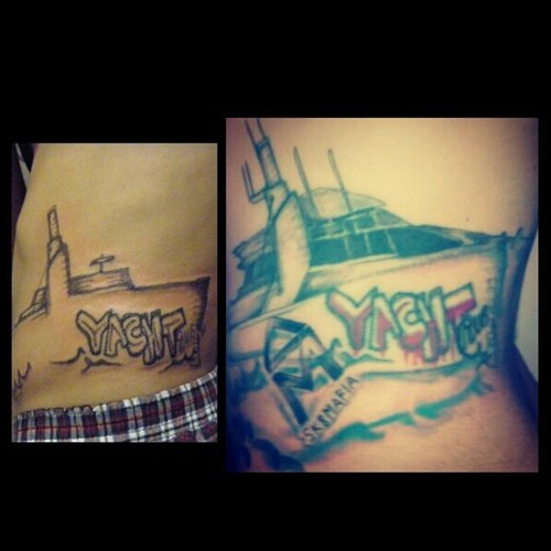wtf tattoos funny - 7786467584