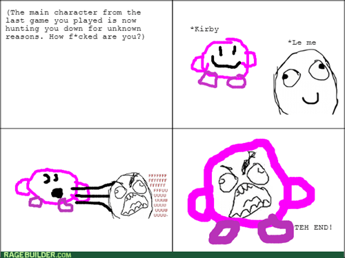 kirby,main character game