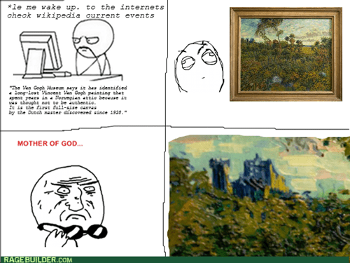 art,Van Gogh,doctor who,Rage Comics