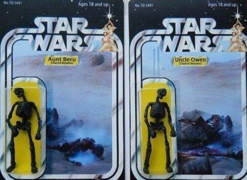 star wars aunt beru uncle owen action figure - 7787749888