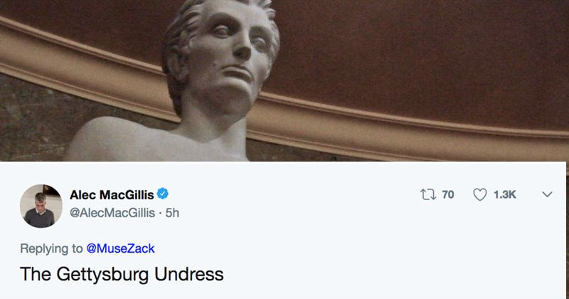 twitter Abe Lincoln abs puns president reaction funny - 7787781