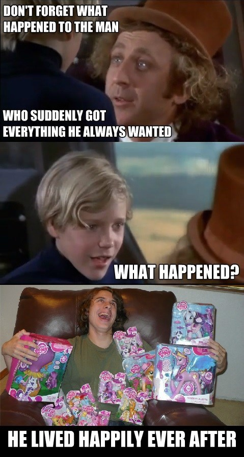 Bronies,Willy Wonka,toys