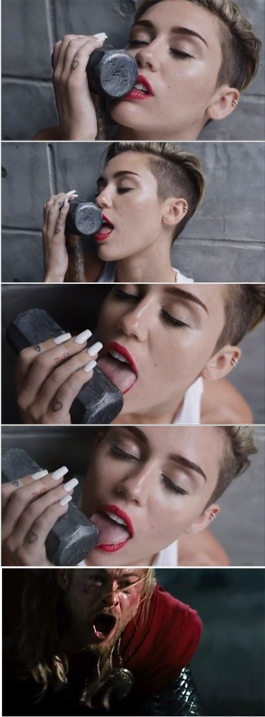 Music,Thor,miley cyrus,wrecking ball