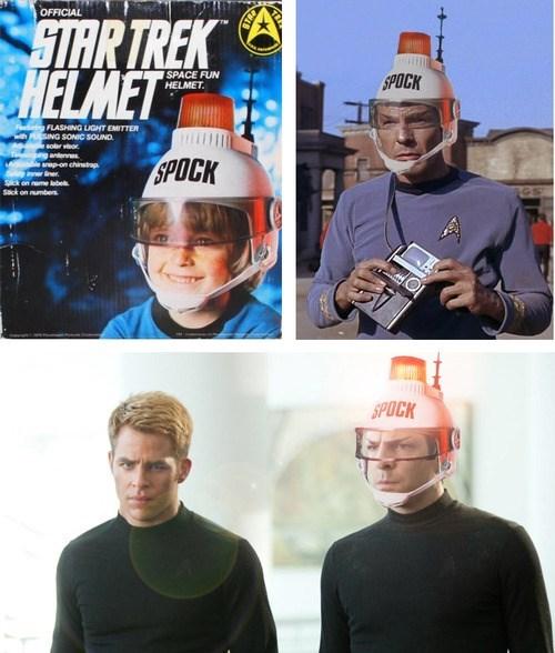 wtf helmets Spock Star Trek funny - 7788063744