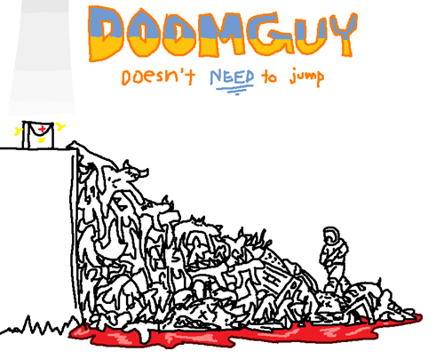 doom video games jumping - 7788064000