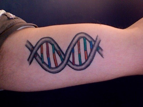 tattoo,science,DNA,funny