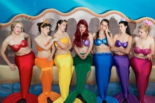 disney cosplay disney princesses The Little Mermaid - 7788132352