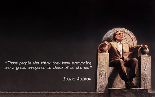 isaac asmiov quote funny - 7788157696