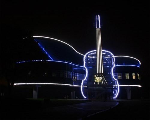 Music architecture design building - 7788161024