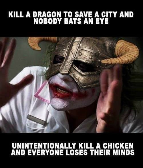 joker mind loss video games Skyrim - 7788175104