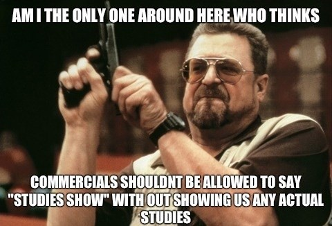 liars,Memes,commercials,studies
