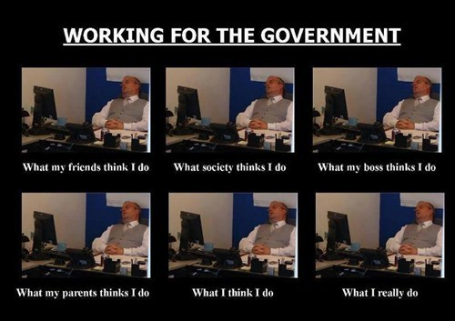 what people think i do the government - 7788261632