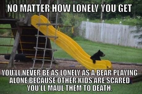 loneliness bears