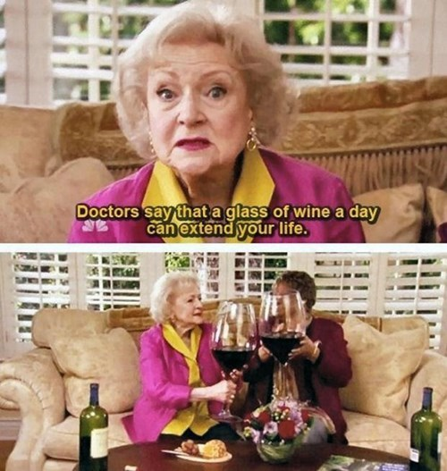 wine betty white funny - 7788411136