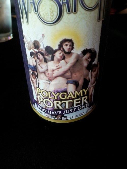 beer polygamy porter funny - 7788435968