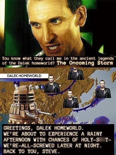 daleks,doctor who,9th doctor