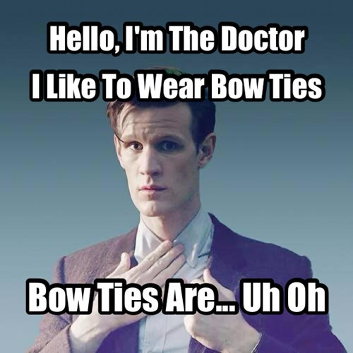 Matt Smith 11th Doctor bowties - 7789873408