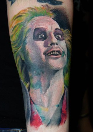 beetlejuice,tattoos,funny