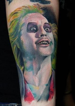 beetlejuice tattoos funny - 7790051328