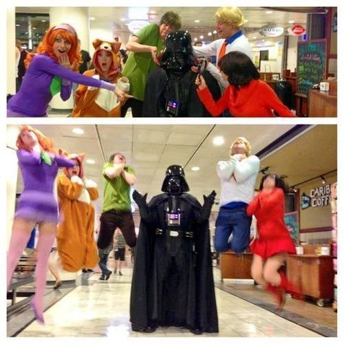 scooby doo cosplay star wars darth vader - 7790156800