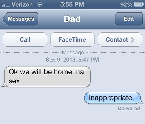 autocorrect Awkward text dad funny AutocoWrecks - 7790206976
