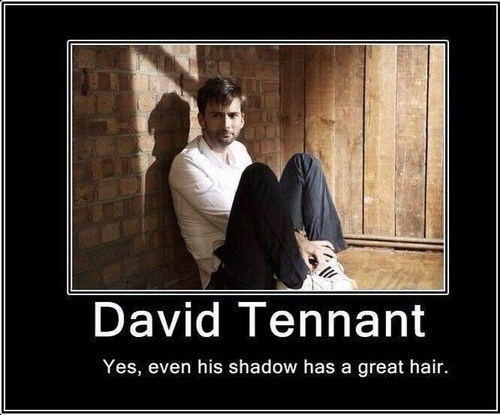 Vashta Nerada great hair David Tennant 10th doctor - 7790308096